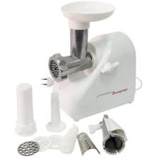 Meat grinder electric 1000 W. 2 grilles, juice extractor nozzle, test profiling nozzle, sausage stuffing nozzle, revers function KEM-36 / 220-4, mod. 34