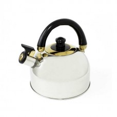 Kettle stainless steel with a whistle 2.5l KAISERHOFF KH-126