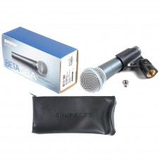 Microphone SHURE DM Beta wired 58A 57A