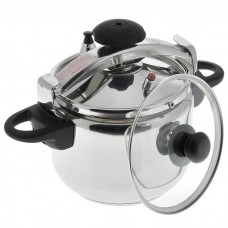 Pressure cooker from stainless steel 6l Bergner BG-342