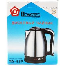 Electric kettle Domotec 1500W. 2L MS-A29