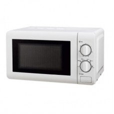 Microwave oven white 20l, 800W (6 power levels), mechanical 20MX60-L (white)