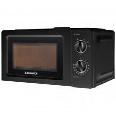 Microwave oven 20l, 800W (6 power levels), mechanical GRUNHELM 20MX701-B (black)