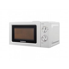 Microwave oven 20l, 800W (6 power levels), mechanical GRUNHELM 20MX701-W (white)