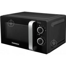 Microwave oven 20l, 800W (6 power levels), mechanical GRUNHELM 20MX702-B (black)