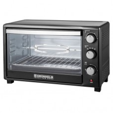 Electric oven 45l, 2200 W with grill GRUNHELM GN45AR (black)