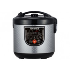Multicooker - 5 l, 900 W, 37 programs (9 cars + 28mech.nal), the mode of multicooking, non-stick coating, recipe book GRUNHELM MC-37S (design)