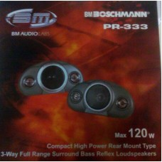 Car speaker Boschman consignment note PR-333